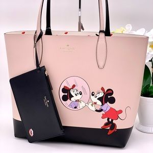 Kate Spade and Disney Minnie Mouse Revesible Tote
